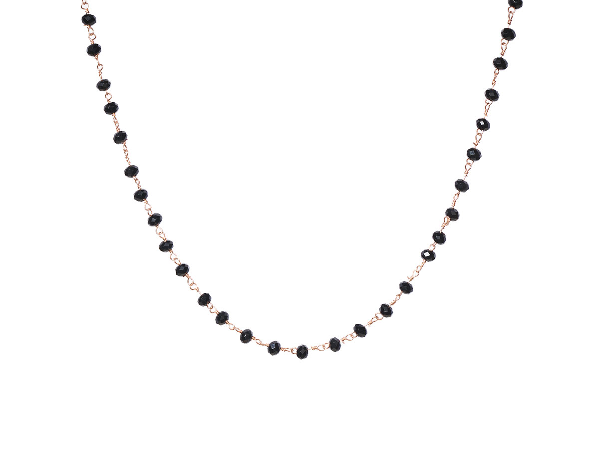 Choker Argint Black Way