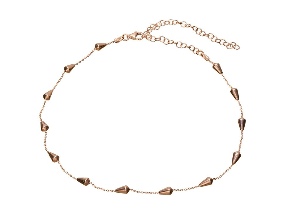 Choker Argint Rose Willa